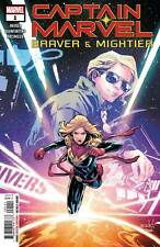 Captain Marvel Braver Mightier #1 B Lim Variant Cover First Print 2019