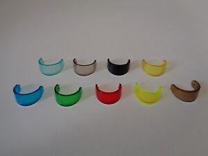 Choose Color 2447 LEGO Accessoire Minifig visor visière headgear