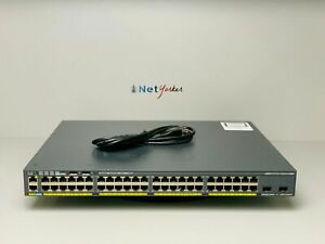 Cisco-WS-C2960X-48FPD-L-48-Port-PoE-Switch-SAME-DAY-SHIPPING