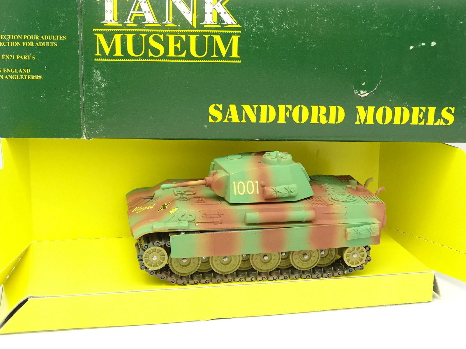 Verem Military Sandford - Tank Museum 1 50 - Char Panther Command tank SM48
