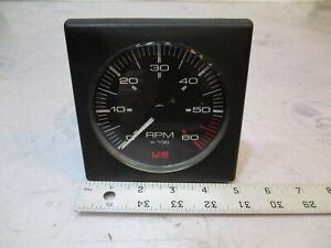 Bayliner Capri Square US Marine Faria Tachometer For OMC 2.3L | eBay | Bayliner Tachometer Wiring |  | eBay