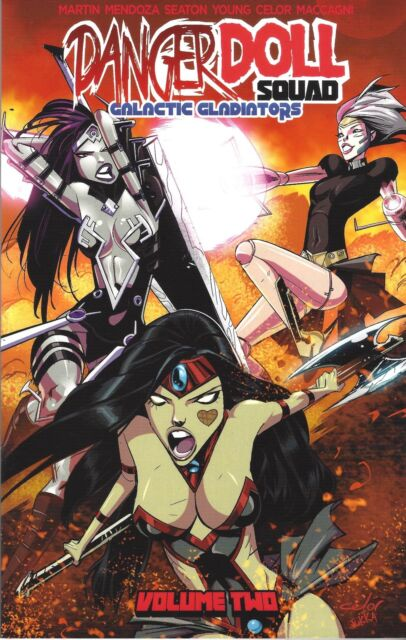 DANGER DOLL SQUAD volume 2 GALACTIC GLADIATORS trade/TPB issues 1 2 3 4 *SIGNED