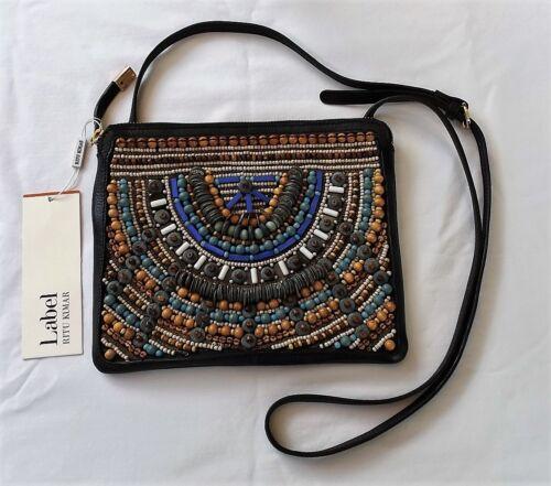 LABEL Ritu Kumar Multicolored Sling Bag purse Han… - image 1