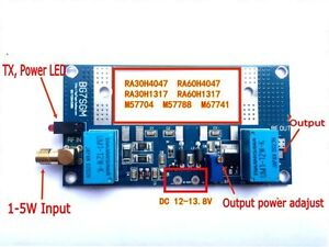 Radio-Power-Amplifier-Board-for-RA30H4047M-RA60H4047M-Mitsubishi-Intercom-Ham