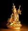 """5.9/""""Tibet Tibetan Buddhism Macht Metal Guru Rinpoche Padmasambhava Buddha Statue"""