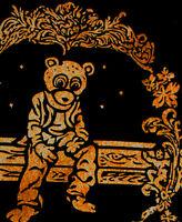 New1 Gold DropOut Bear tshirt kanye vtg saint pablo rap west cajmear  M L XL 2XL