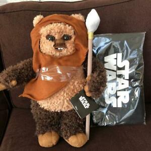 Limited-production-Star-Wars-1-2-wicket-Figure-Plush-Doll-Toy-Rare-Takara-Tomy