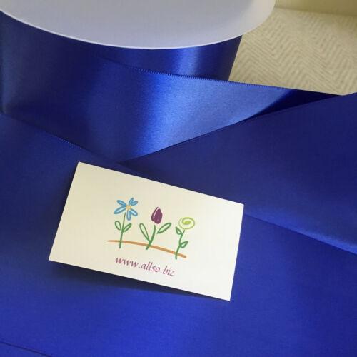 HOT PINK Single Sided Satin Sash Ribbon 100mm 4 inch Cars Hen Wedding Sash Chair