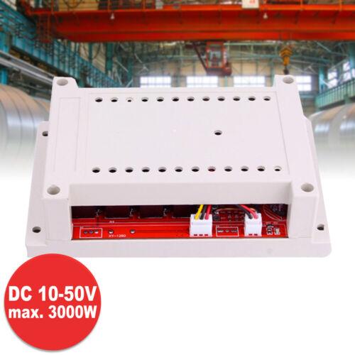 PWM DC Drehzahlregler 3000W DC10V-50V 60A Motor Speed Controller Motorregler NEU