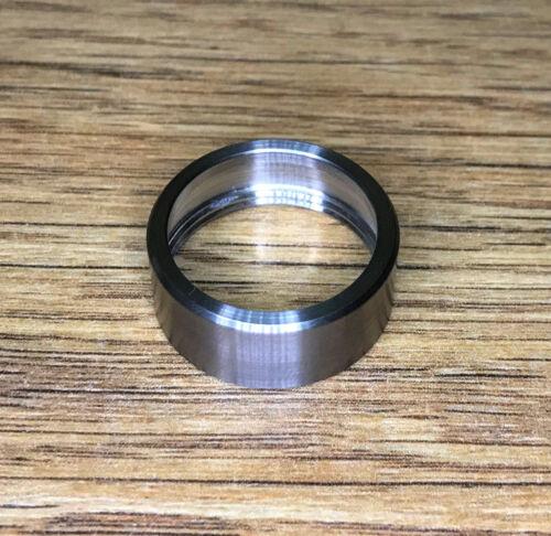 KL4 Heads E2D E2e Handmade Titanium Bezel ring For Surefire E1e