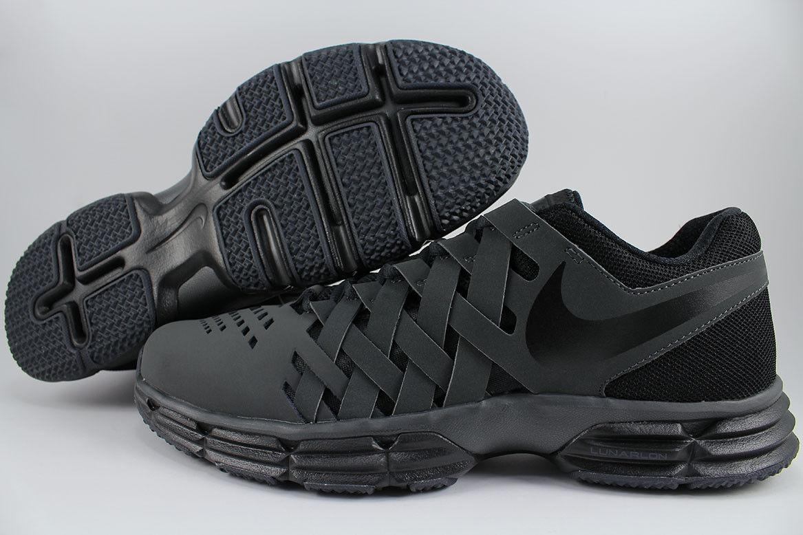 Nike lunar cross-trainer fingertrap schwarz / anthrazit, grau. cross-trainer lunar weiterbildung mens größen fb1df8