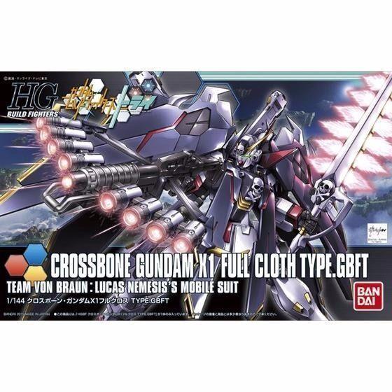 Bandai Hgbf 1 144 Crossbone Gundam X 1 Completo Bayeta Tipo Gbft