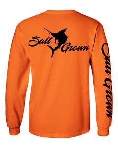Salt Addiction Saltwater Fishing Pole Logo short sleeve t shirt marlin trolling