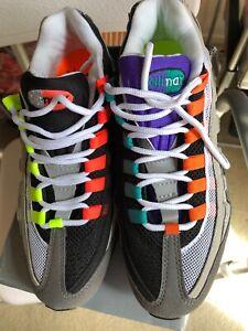 buy popular 87508 c369d Image is loading Nike-Air-Max-95-OG-QS-Greedy-mens-