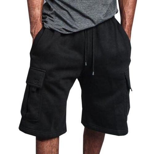 Mens Shorts Cargo Casual Sports Gym Jogging Running Training Half Pants Summer