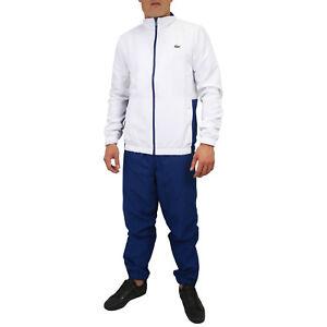 Tennis Trainingsanzug Jacke Sport Lacoste Herren Weiß Wh9503 Hose ZPIdw5xq