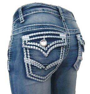 My-Christy-Jeans-Hueftjeans-34-super-dicke-Naht-Kontrastnaht-Wrinkel-Stretch-NEU