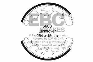 6608 EBC Rear Brake Shoes fit LAND ROVER Freelander
