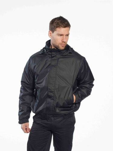 *DISCOUNT* PORTWEST Calais Breathable Bomber Jacket Waterproof Fleece S503