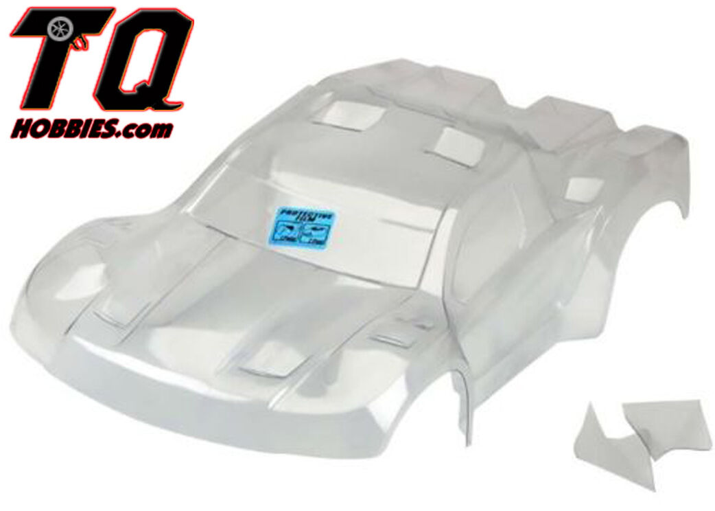 Pro-Line 3458-17 Pre-Cut Flo-Tek Fusion Clear Body for PRO-2 SC   Slash   SC5M