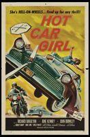 Hot Car Girl Movie Poster 24x36