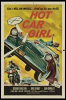 Hot Car Girl Movie Poster 24x36
