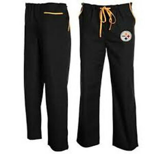 9f6f2d12e Image is loading NFL-Pittsburgh-Steelers-Unisex-NFL-Solid-Scrub-Pants-