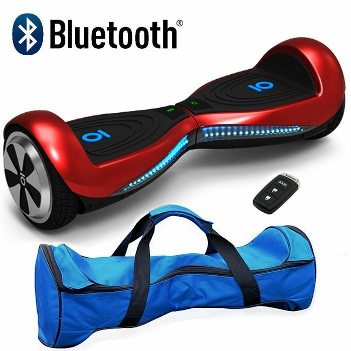 Original 6.5  black Electric Self Balance Hover Scooter 2 wheel Board blueetooth