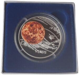 1-Oz-Silber-Venus-Niue-Solar-System-2020-Polierte-Platte-im-Etui