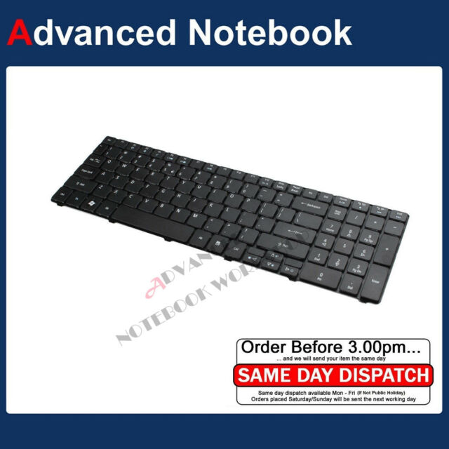 Keyboard for Acer Aspire 5742G 5742Z G 5745G 5750G 5750Z 5810T 5820T  Black US