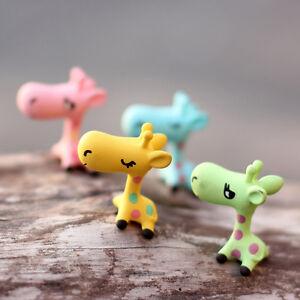 Animals-Miniature-Giraffe-Ornament-Home-Decor-Garden-Figurine-Bonsai-Statue-SPCA