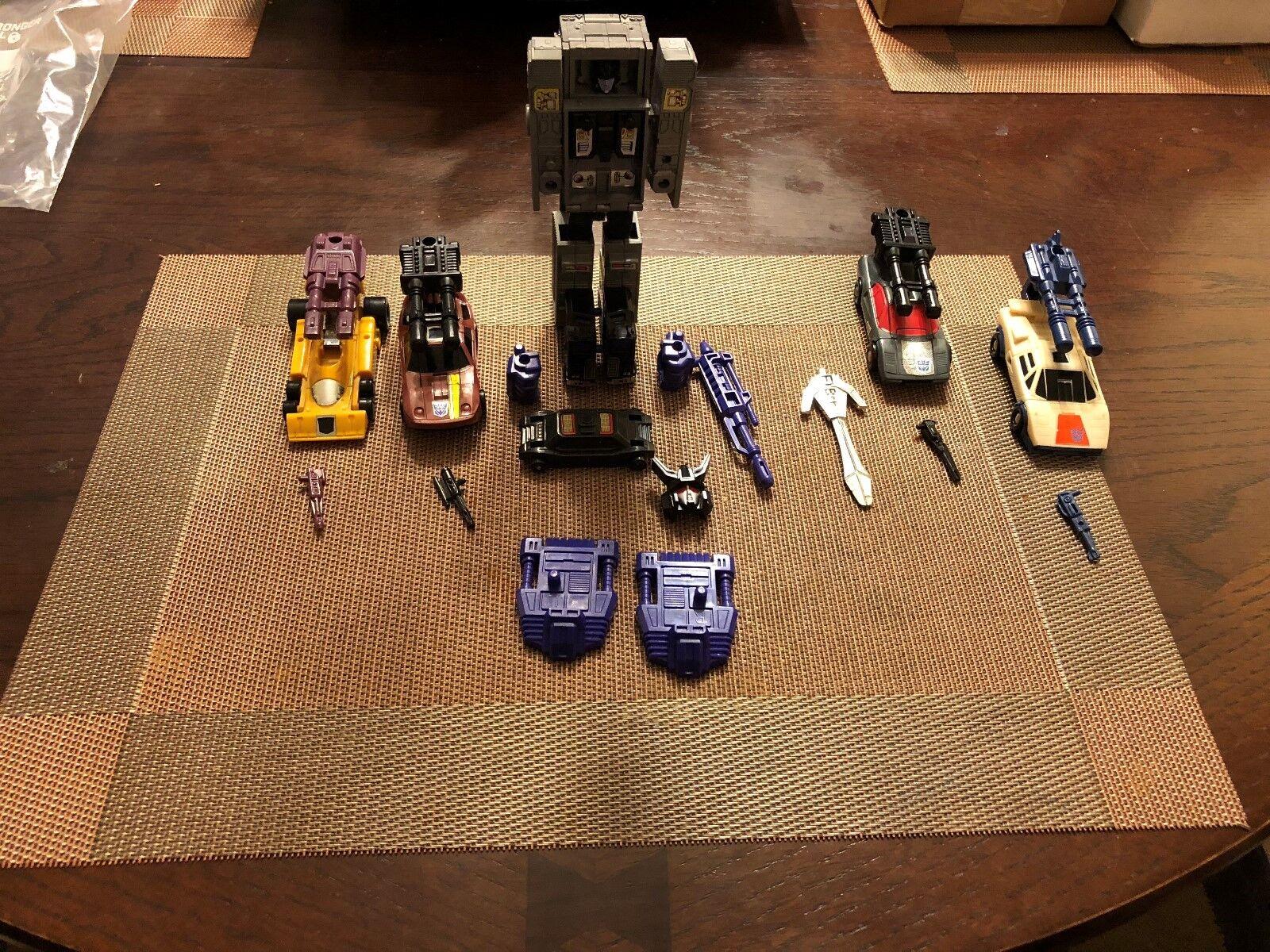 Vintage  1986 Transformers G1 Hommesasor stunticons en bon état  profitez de 50% de réduction