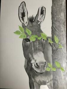 Millie by Suzanne Nesmith. Original, drawn in graphite on clay board