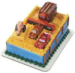 Tractor Tipping Cake