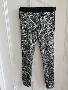 EX-TOPSHOP CHECKED LEGGINGS BNWOT SIZES UK 6,8 AND 10