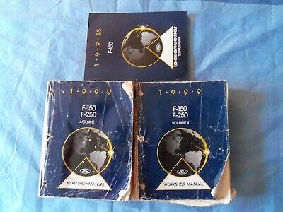 1999 Ford F-150 F150 Truck Service Shop Repair Manuals ...