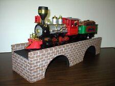 "G GAUGE BRICK BRIDGE / Model Railroad Accessories - 24"" with Arches"