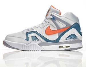 Hot Deal: Nike 643089-184 Men's Air Challenge II White Orange Clay Blue