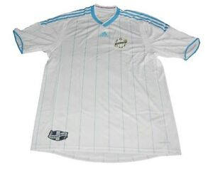 Olympique Marseille Maglia Adidas S M L XL CHAMP MAILLOT JERSEY maglia camiseta