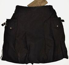 AIRFIELD   ●●  toller schwarzer Ballonrock leicht glänzend  Gr.M    Neu m. Et.