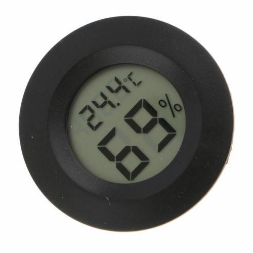 AS/_ Mini Digital LCD Display Humidity Temperature Gauge Monitoring Temp thermome