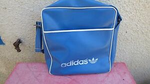 Los Viaje 70 Vintage Adidas Detalles Cielo Polipiel De Azul Bolsa Mochila y8NmOv0nw