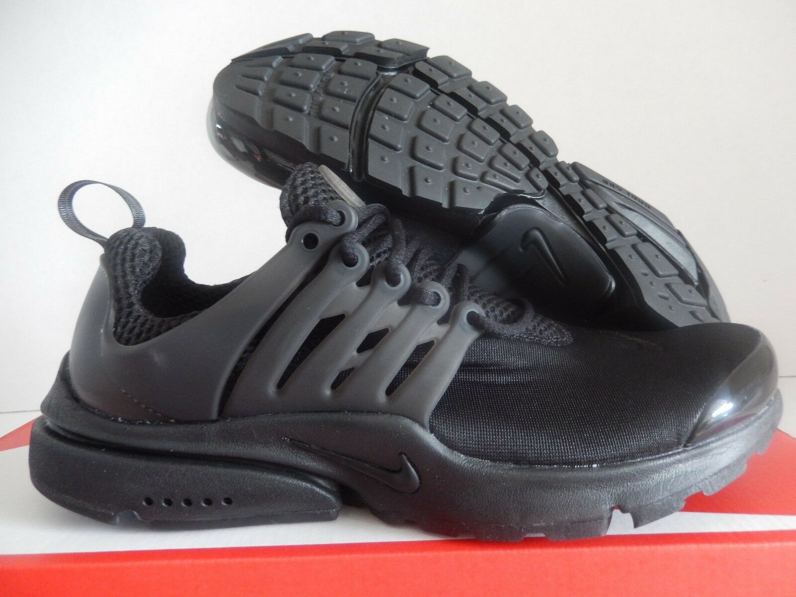 outlet MENS NIKE AIR PRESTO TRIPLE BLACK SZ XXS SZ 7-8  305919-009 ... af06411af