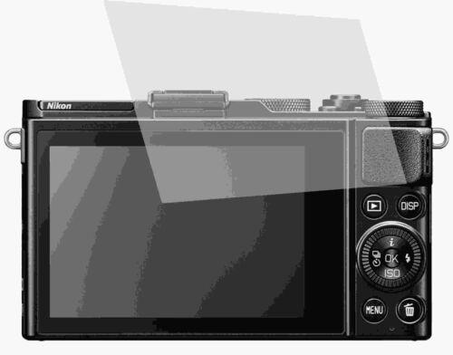 crystalclear LCD Screen Guard protector de táctil 2x Nikon dl24-85 f//1.8-2.8