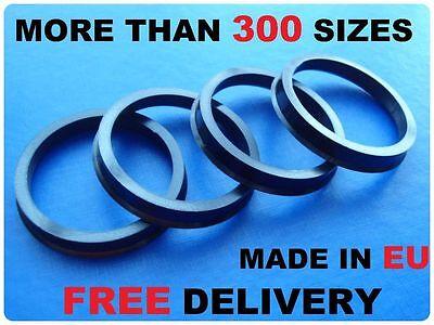 4x Alloy Wheels Hub Spigot Rings Centric Rings 76.0mm / 60.1mm