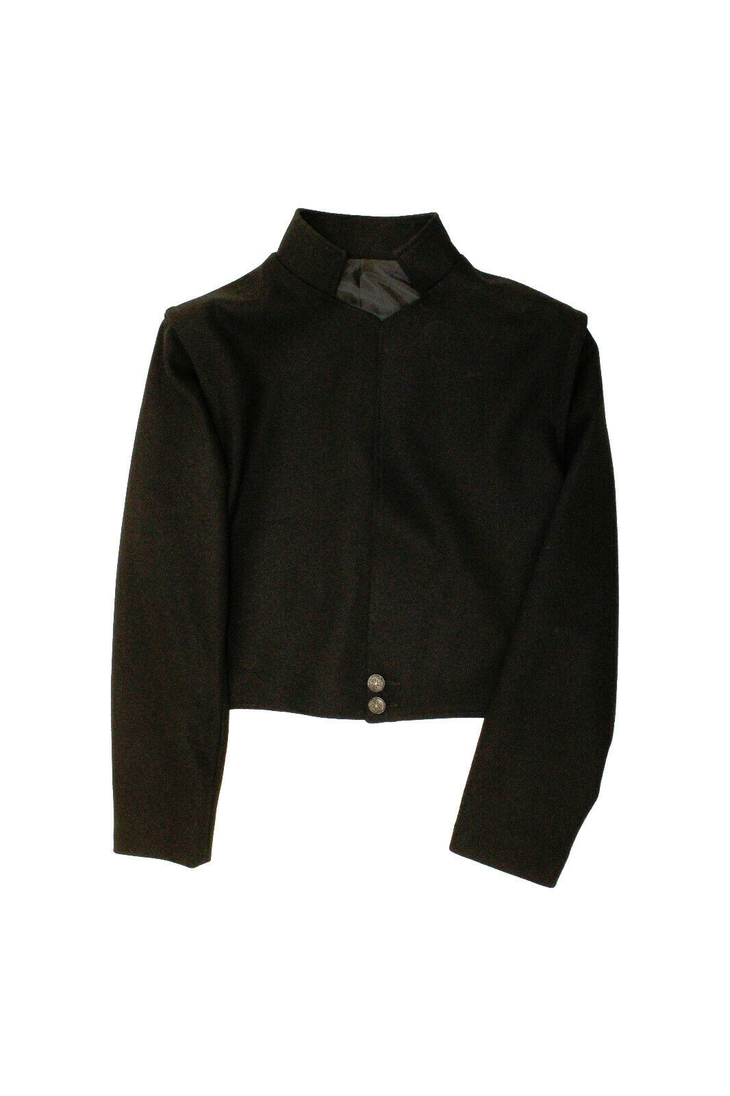 NEW Black LOWLANDER Jacket with zip sleeves 100% Wool - reduced to clear