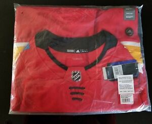 Calgary-Flames-Johnny-Gaudreau-adidas-NHL-Men-039-s-adizero-Authentic-Pro-Jersey