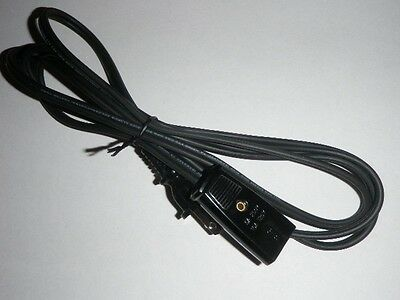 Mirro Portable Broiler Power Cord for Model M-0475-3 M-0475-39 M-0475 2pin 6ft