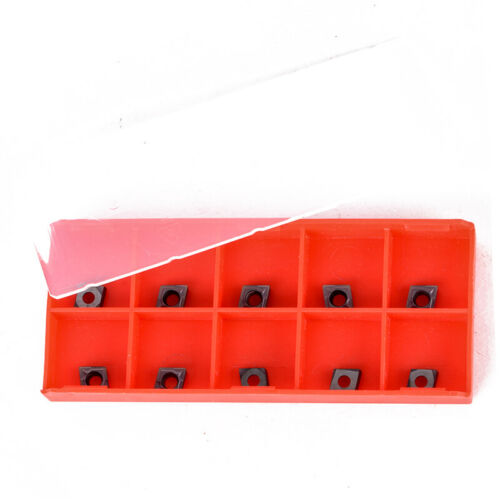 10PC CCMT060204 Internal Carbide Inserts For Lathe Turning Tool Holder
