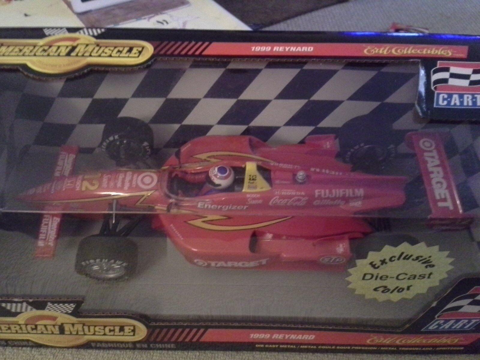 1999 ERTL JIMMY VASSER  12 Reynard Target Honda Indy Diecast 1/18 Scale F1 CART